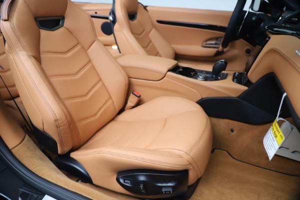 New 2019 Maserati GranTurismo Sport Convertible for sale $161,970 at Alfa Romeo of Greenwich in Greenwich CT 06830 28