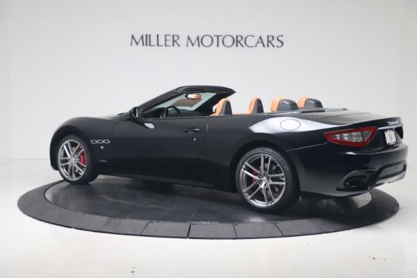 New 2019 Maserati GranTurismo Sport Convertible for sale $161,970 at Alfa Romeo of Greenwich in Greenwich CT 06830 4