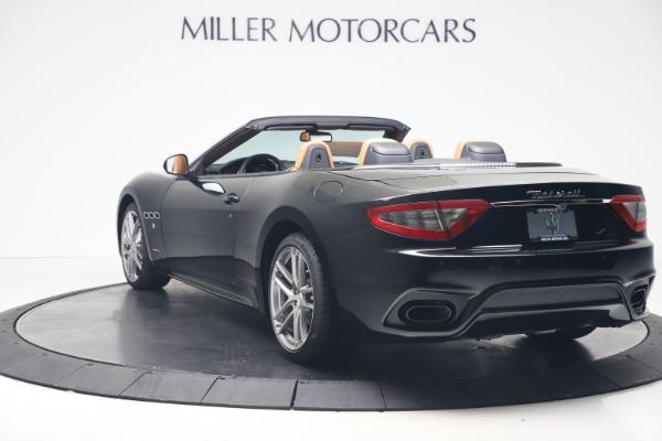 New 2019 Maserati GranTurismo Sport Convertible for sale $161,970 at Alfa Romeo of Greenwich in Greenwich CT 06830 5