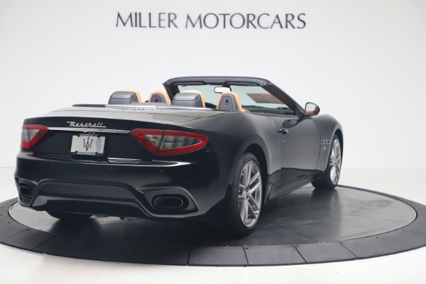 New 2019 Maserati GranTurismo Sport Convertible for sale $161,970 at Alfa Romeo of Greenwich in Greenwich CT 06830 7