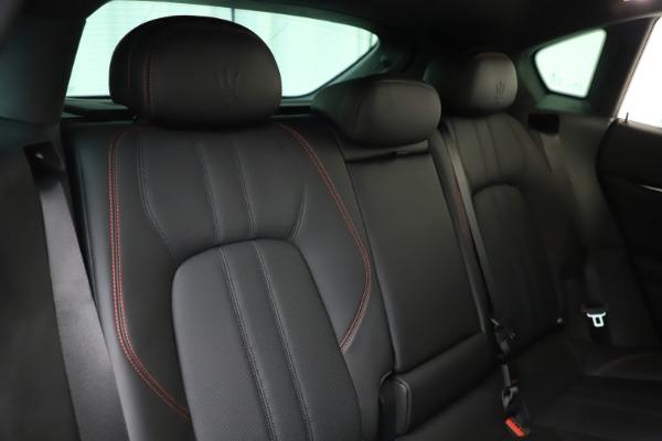 New 2019 Maserati Levante Q4 GranSport for sale Sold at Alfa Romeo of Greenwich in Greenwich CT 06830 26
