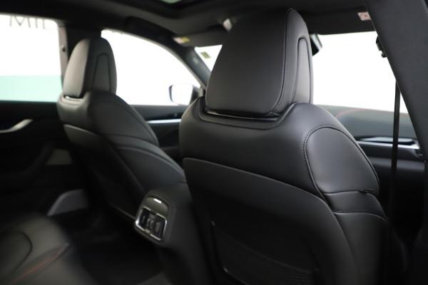 New 2019 Maserati Levante Q4 GranSport for sale Sold at Alfa Romeo of Greenwich in Greenwich CT 06830 28