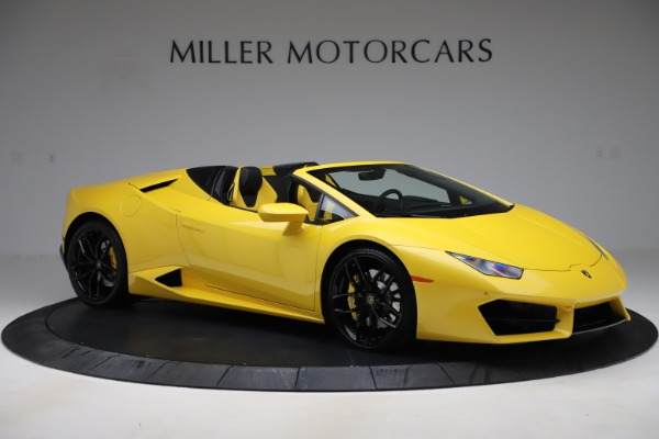 Used 2018 Lamborghini Huracan LP 580-2 Spyder for sale Sold at Alfa Romeo of Greenwich in Greenwich CT 06830 10