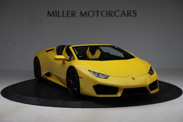 Used 2018 Lamborghini Huracan LP 580-2 Spyder for sale Sold at Alfa Romeo of Greenwich in Greenwich CT 06830 11