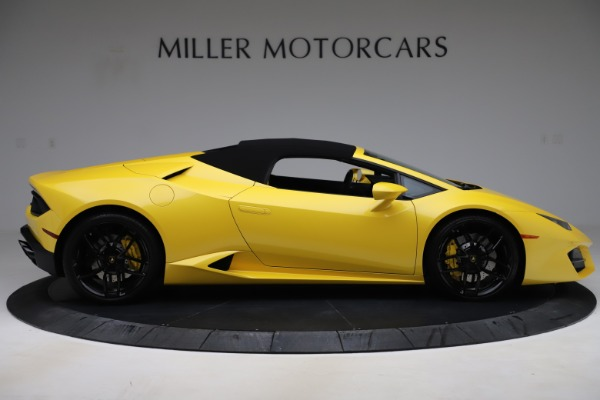 Used 2018 Lamborghini Huracan LP 580-2 Spyder for sale Sold at Alfa Romeo of Greenwich in Greenwich CT 06830 16