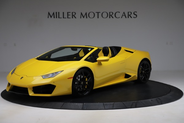 Used 2018 Lamborghini Huracan LP 580-2 Spyder for sale Sold at Alfa Romeo of Greenwich in Greenwich CT 06830 2