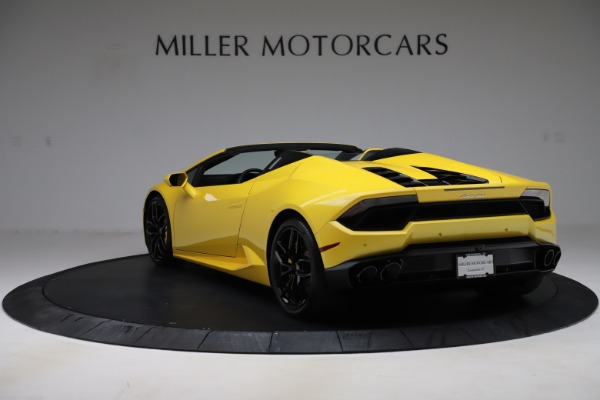 Used 2018 Lamborghini Huracan LP 580-2 Spyder for sale Sold at Alfa Romeo of Greenwich in Greenwich CT 06830 5