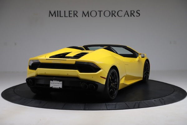 Used 2018 Lamborghini Huracan LP 580-2 Spyder for sale Sold at Alfa Romeo of Greenwich in Greenwich CT 06830 7