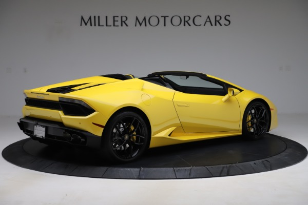 Used 2018 Lamborghini Huracan LP 580-2 Spyder for sale Sold at Alfa Romeo of Greenwich in Greenwich CT 06830 8