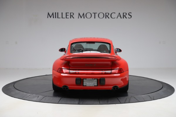 Used 1997 Porsche 911 Turbo S for sale $419,900 at Alfa Romeo of Greenwich in Greenwich CT 06830 7