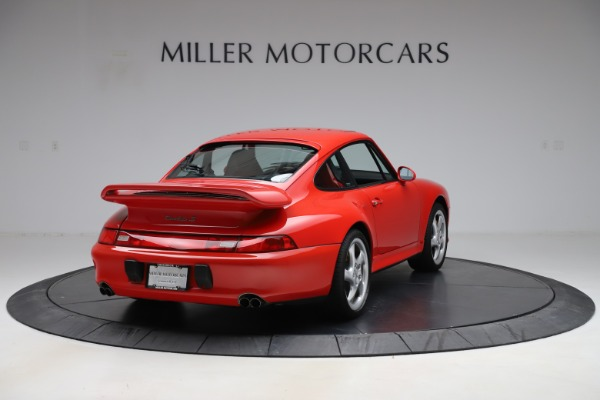 Used 1997 Porsche 911 Turbo S for sale $419,900 at Alfa Romeo of Greenwich in Greenwich CT 06830 8