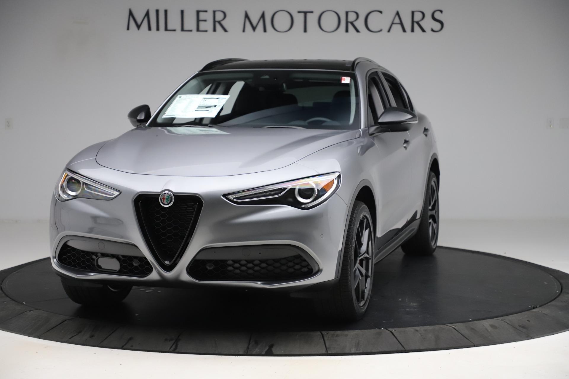 New 2020 Alfa Romeo Stelvio Q4 for sale $49,840 at Alfa Romeo of Greenwich in Greenwich CT 06830 1
