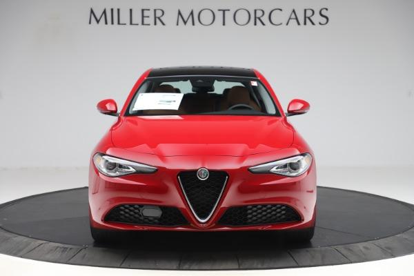 New 2020 Alfa Romeo Giulia Q4 for sale $45,740 at Alfa Romeo of Greenwich in Greenwich CT 06830 12
