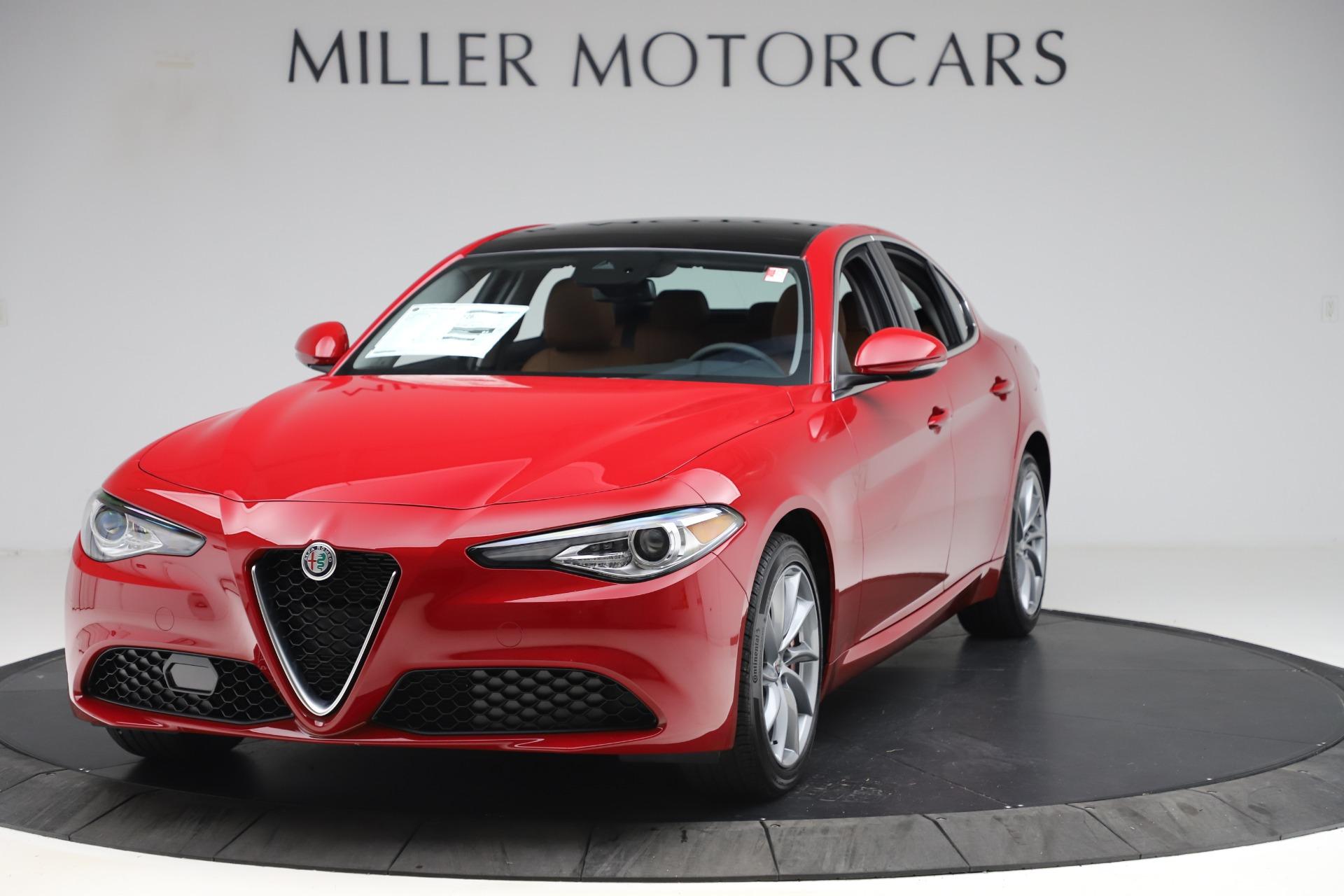 New 2020 Alfa Romeo Giulia Q4 for sale $45,740 at Alfa Romeo of Greenwich in Greenwich CT 06830 1