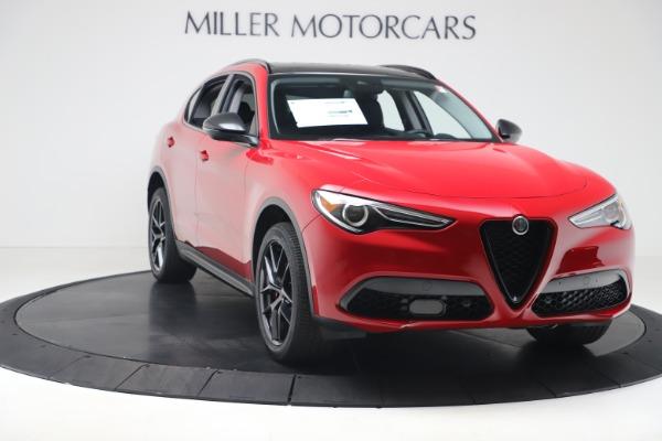 New 2020 Alfa Romeo Stelvio Q4 for sale $49,240 at Alfa Romeo of Greenwich in Greenwich CT 06830 11