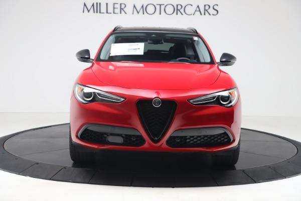 New 2020 Alfa Romeo Stelvio Q4 for sale $49,240 at Alfa Romeo of Greenwich in Greenwich CT 06830 12