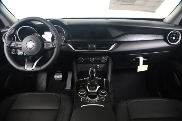 New 2020 Alfa Romeo Stelvio Q4 for sale $49,240 at Alfa Romeo of Greenwich in Greenwich CT 06830 16