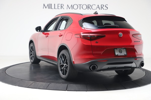 New 2020 Alfa Romeo Stelvio Q4 for sale $49,240 at Alfa Romeo of Greenwich in Greenwich CT 06830 5