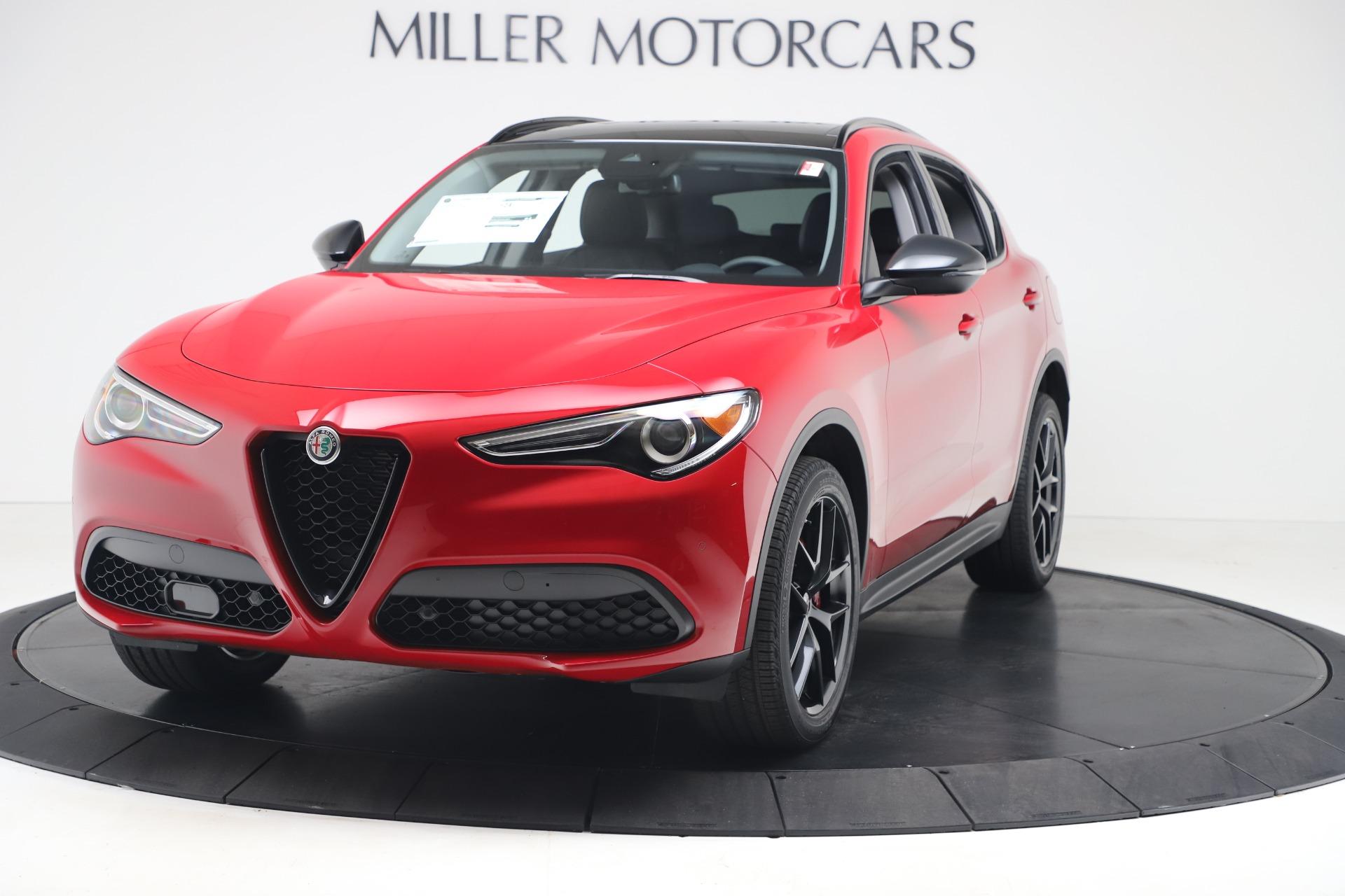 New 2020 Alfa Romeo Stelvio Q4 for sale $49,240 at Alfa Romeo of Greenwich in Greenwich CT 06830 1
