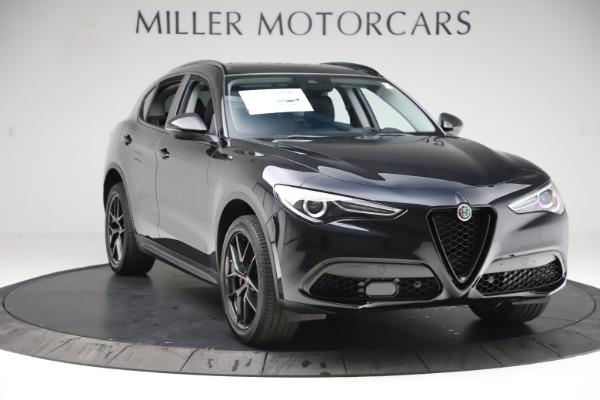 New 2020 Alfa Romeo Stelvio Q4 for sale $49,840 at Alfa Romeo of Greenwich in Greenwich CT 06830 11