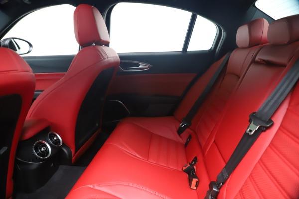 New 2020 Alfa Romeo Giulia Ti Sport Q4 for sale $56,440 at Alfa Romeo of Greenwich in Greenwich CT 06830 19