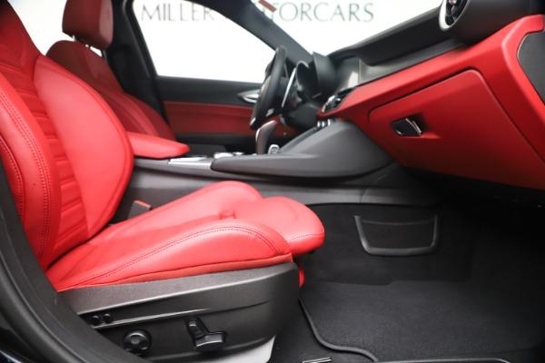 New 2020 Alfa Romeo Giulia Ti Sport Q4 for sale $56,440 at Alfa Romeo of Greenwich in Greenwich CT 06830 23