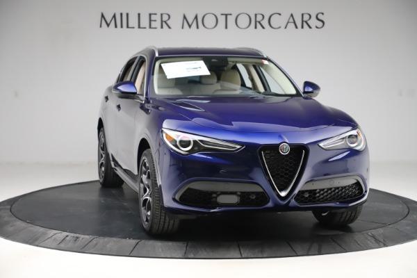 New 2020 Alfa Romeo Stelvio Ti Lusso Q4 for sale $55,790 at Alfa Romeo of Greenwich in Greenwich CT 06830 11