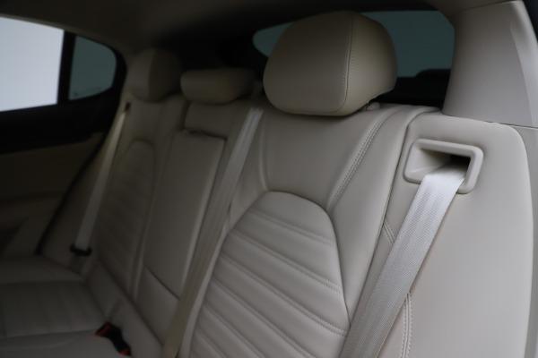 New 2020 Alfa Romeo Stelvio Ti Lusso Q4 for sale $55,790 at Alfa Romeo of Greenwich in Greenwich CT 06830 18