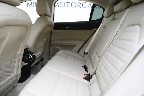 New 2020 Alfa Romeo Stelvio Ti Lusso Q4 for sale $55,790 at Alfa Romeo of Greenwich in Greenwich CT 06830 19