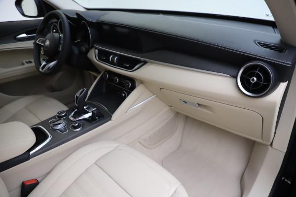 New 2020 Alfa Romeo Stelvio Ti Lusso Q4 for sale $55,790 at Alfa Romeo of Greenwich in Greenwich CT 06830 22