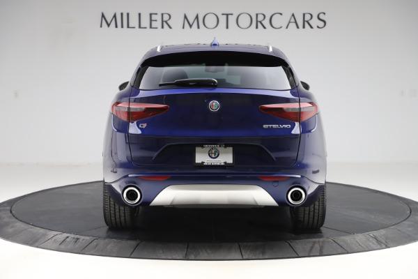 New 2020 Alfa Romeo Stelvio Ti Lusso Q4 for sale $55,790 at Alfa Romeo of Greenwich in Greenwich CT 06830 6