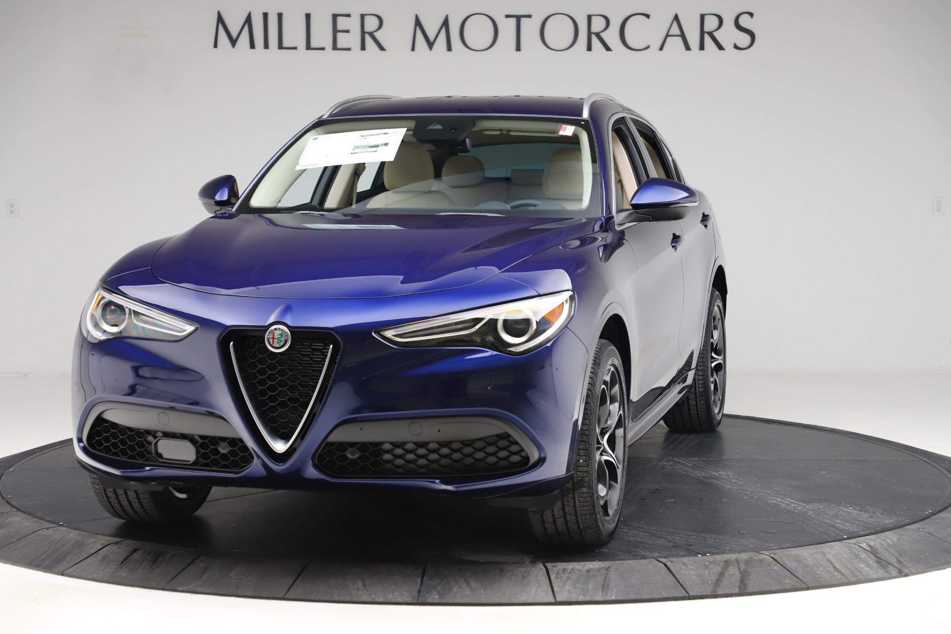 New 2020 Alfa Romeo Stelvio Ti Lusso Q4 for sale $55,790 at Alfa Romeo of Greenwich in Greenwich CT 06830 1