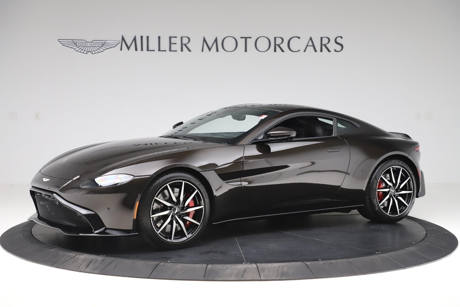 New 2020 Aston Martin Vantage for sale $184,787 at Alfa Romeo of Greenwich in Greenwich CT 06830 1