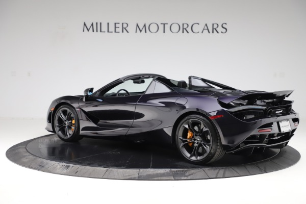 New 2020 McLaren 720S Spider Performance for sale Call for price at Alfa Romeo of Greenwich in Greenwich CT 06830 3