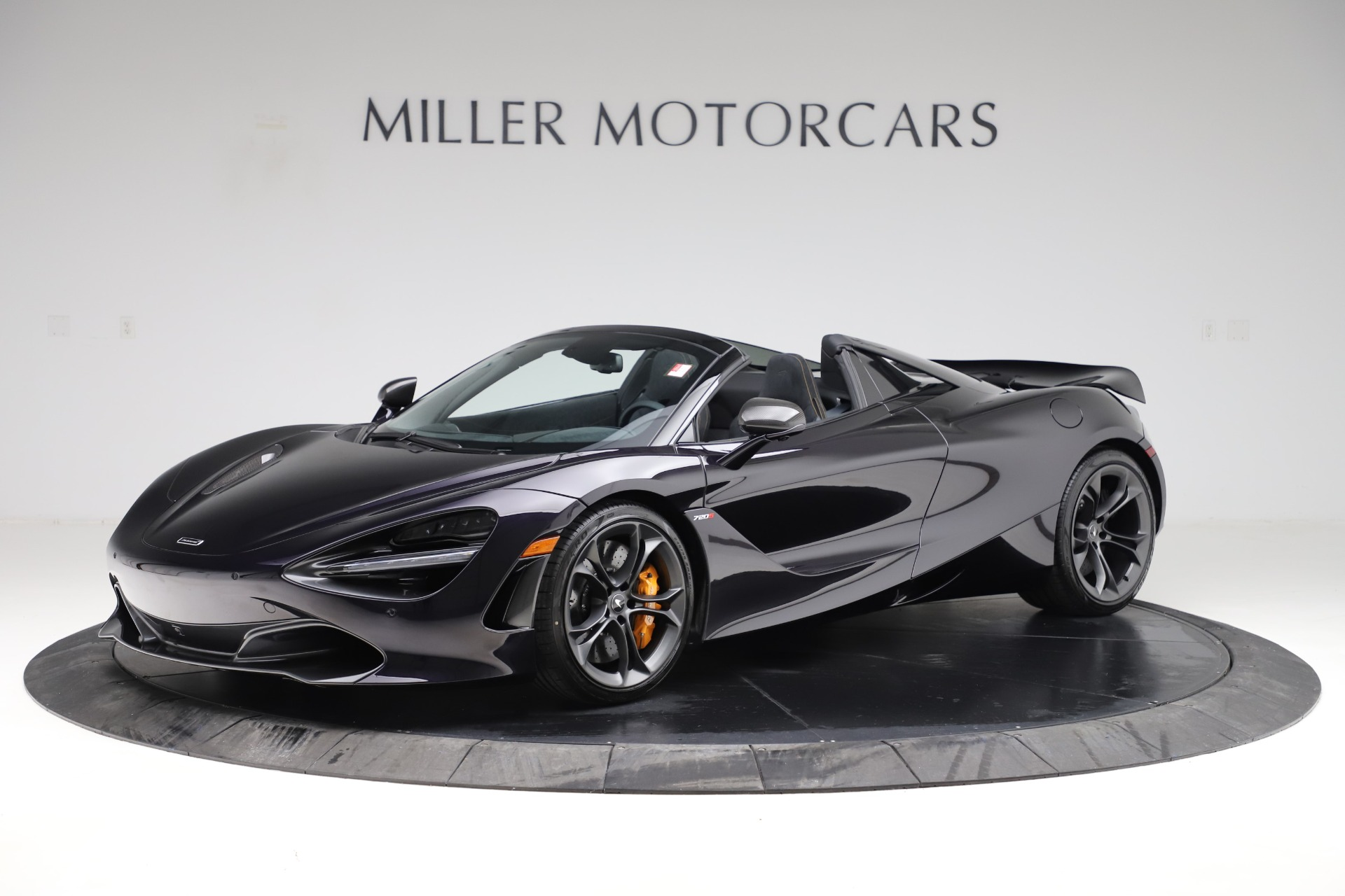 New 2020 McLaren 720S Spider Performance for sale Call for price at Alfa Romeo of Greenwich in Greenwich CT 06830 1