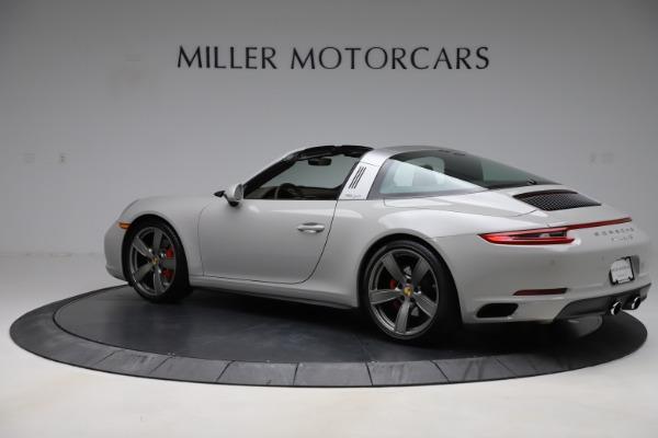 Used 2018 Porsche 911 Targa 4S for sale $134,900 at Alfa Romeo of Greenwich in Greenwich CT 06830 4