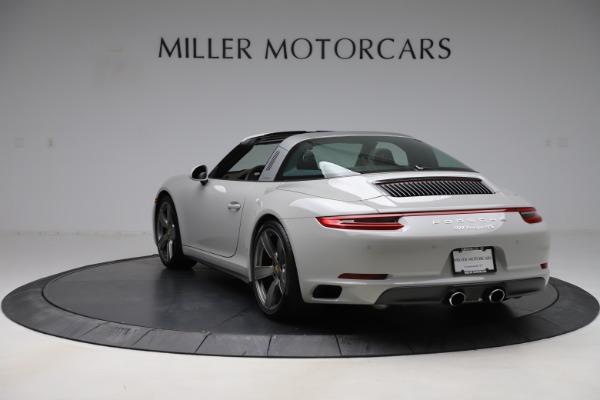 Used 2018 Porsche 911 Targa 4S for sale $134,900 at Alfa Romeo of Greenwich in Greenwich CT 06830 5