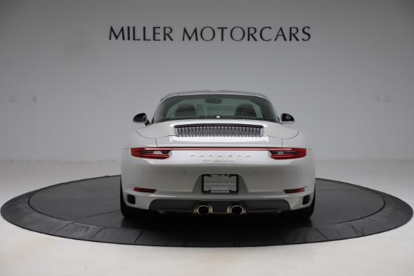 Used 2018 Porsche 911 Targa 4S for sale $134,900 at Alfa Romeo of Greenwich in Greenwich CT 06830 6