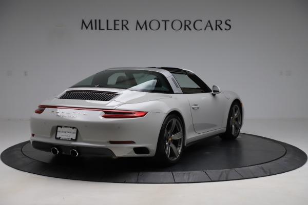 Used 2018 Porsche 911 Targa 4S for sale $134,900 at Alfa Romeo of Greenwich in Greenwich CT 06830 7
