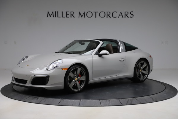 Used 2018 Porsche 911 Targa 4S for sale $134,900 at Alfa Romeo of Greenwich in Greenwich CT 06830 1