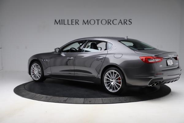 New 2020 Maserati Quattroporte S Q4 GranSport for sale $121,885 at Alfa Romeo of Greenwich in Greenwich CT 06830 4