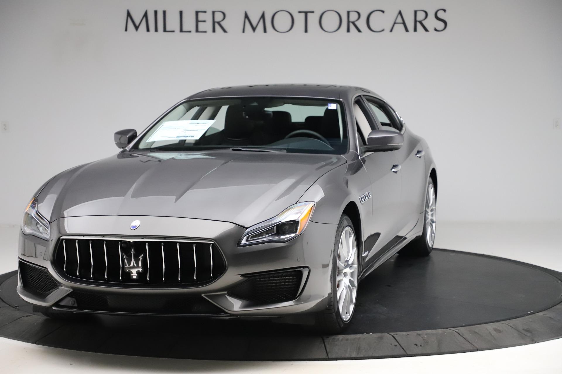 New 2020 Maserati Quattroporte S Q4 GranSport for sale $121,885 at Alfa Romeo of Greenwich in Greenwich CT 06830 1