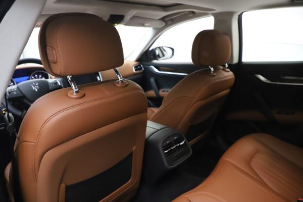 New 2020 Maserati Ghibli S Q4 GranLusso for sale $89,535 at Alfa Romeo of Greenwich in Greenwich CT 06830 20