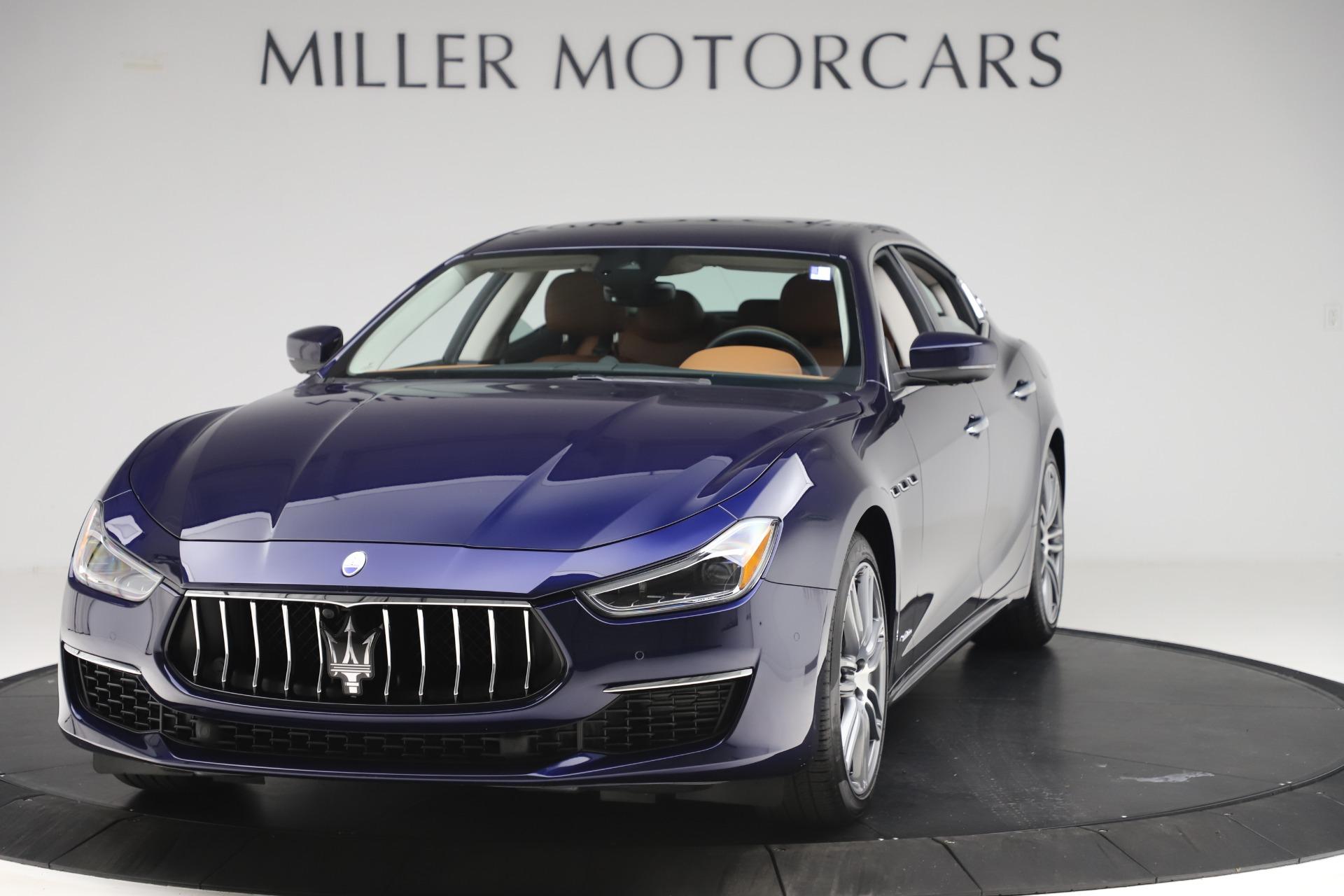 New 2020 Maserati Ghibli S Q4 GranLusso for sale $89,535 at Alfa Romeo of Greenwich in Greenwich CT 06830 1