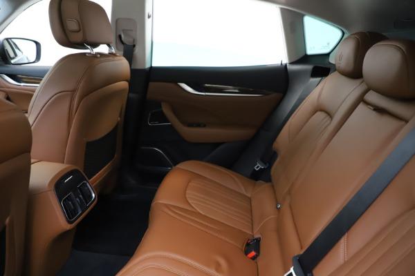 New 2020 Maserati Levante S Q4 GranLusso for sale $94,985 at Alfa Romeo of Greenwich in Greenwich CT 06830 19