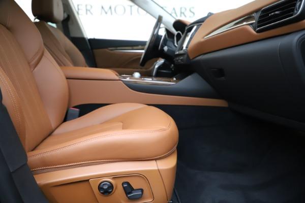 New 2020 Maserati Levante S Q4 GranLusso for sale $94,985 at Alfa Romeo of Greenwich in Greenwich CT 06830 23
