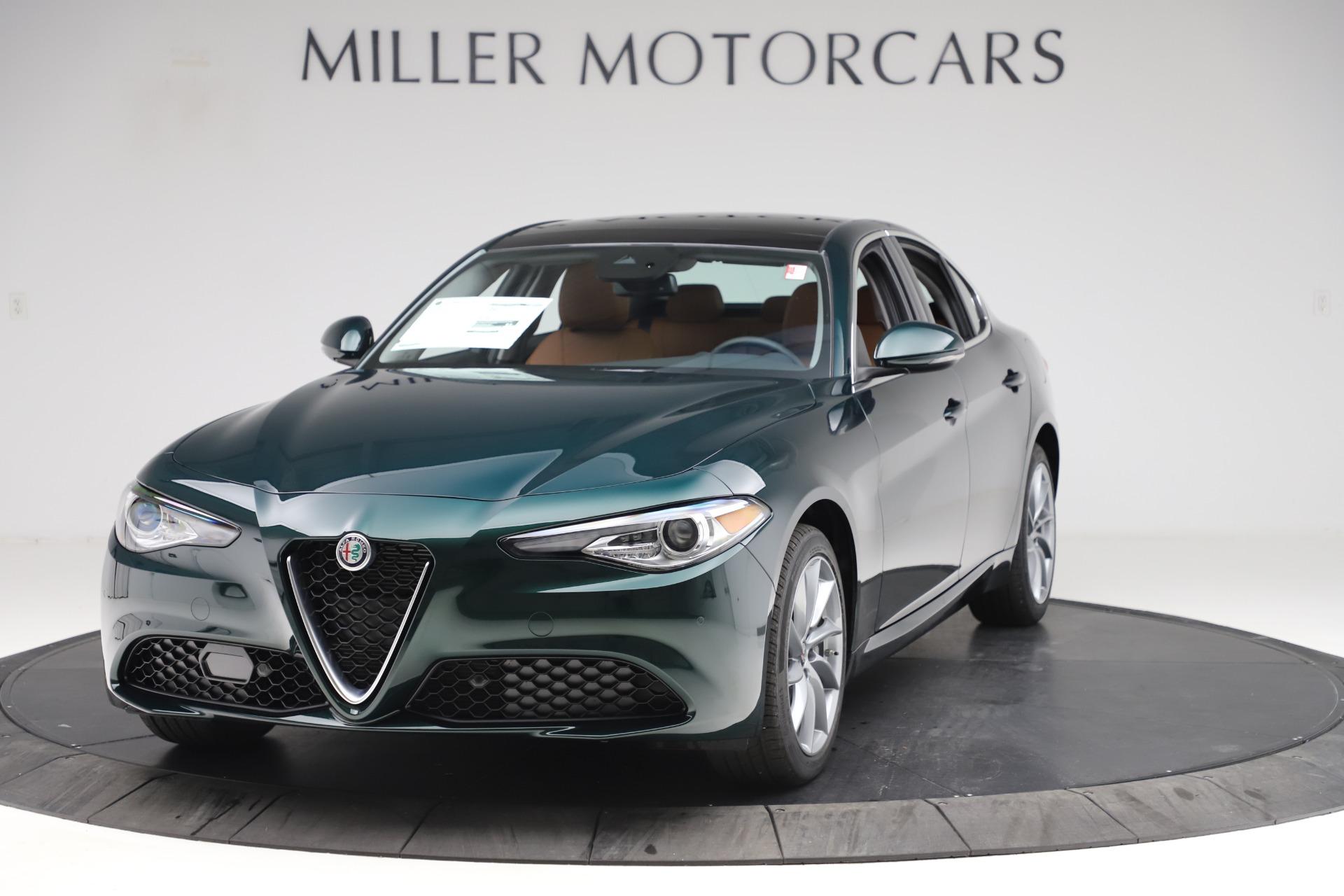New 2020 Alfa Romeo Giulia Q4 for sale Sold at Alfa Romeo of Greenwich in Greenwich CT 06830 1