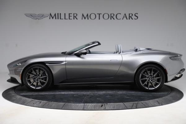 New 2020 Aston Martin DB11 Volante Convertible for sale $271,161 at Alfa Romeo of Greenwich in Greenwich CT 06830 4