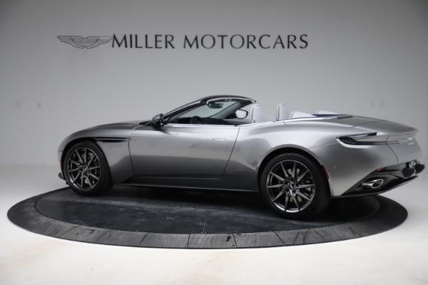 New 2020 Aston Martin DB11 Volante Convertible for sale $271,161 at Alfa Romeo of Greenwich in Greenwich CT 06830 5
