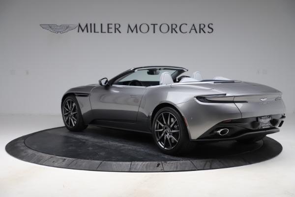 New 2020 Aston Martin DB11 Volante Convertible for sale $271,161 at Alfa Romeo of Greenwich in Greenwich CT 06830 6